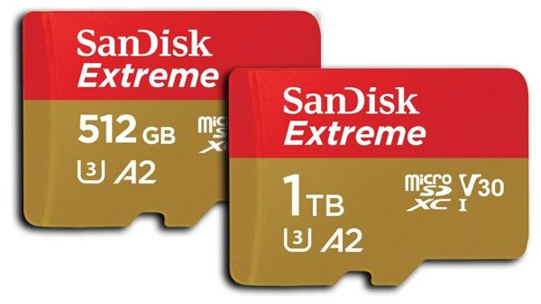 SanDisk Extreme 1TB UHS-I (SDSQXA1-1T00-GN6MA)