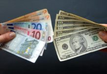 деньги валюта обмен доллар евро