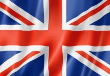 флаг британии английский