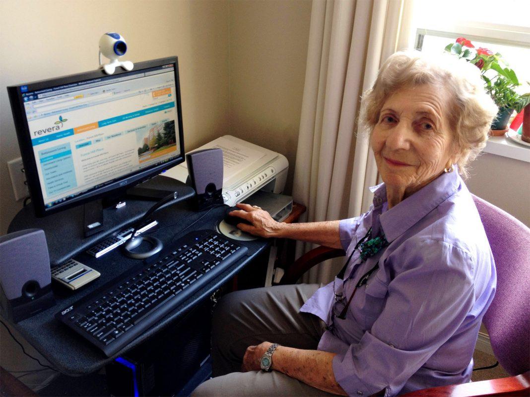 компьютер для пожилых людей, пенсионеров 2017