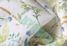 льняная ткань лен