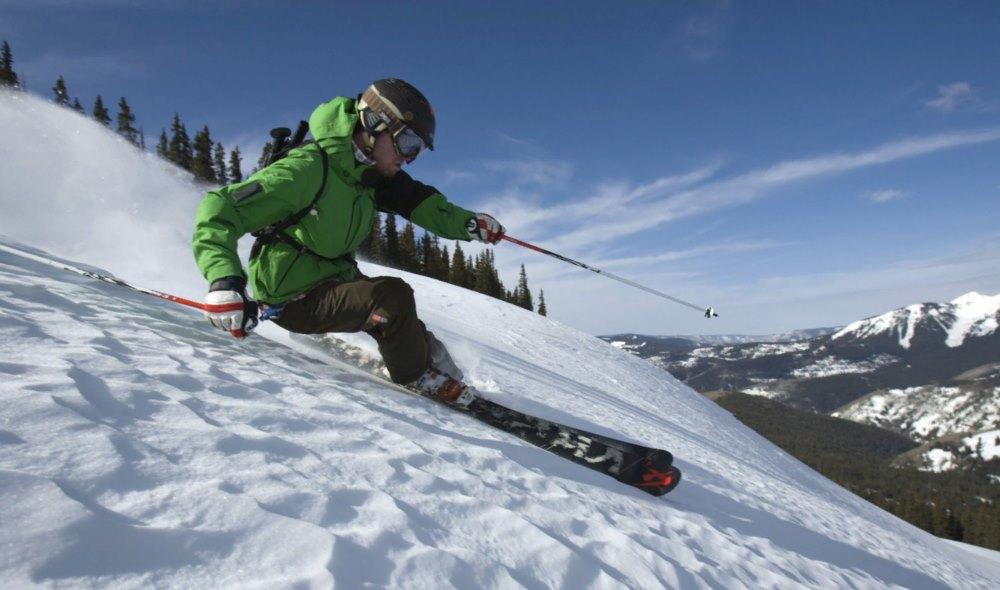 лыжи катание