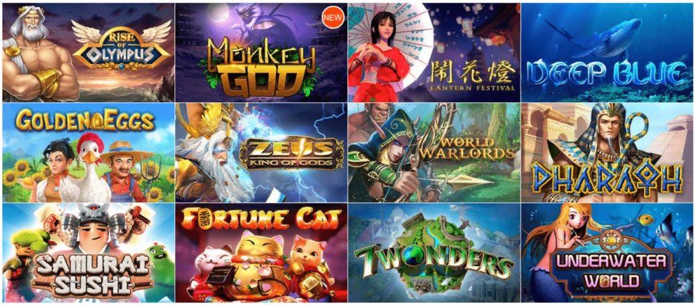 Игры в автоматы бесплатно онлайн