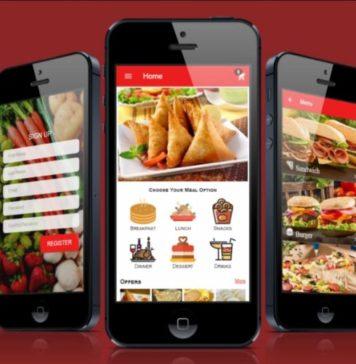 приложение ресторан